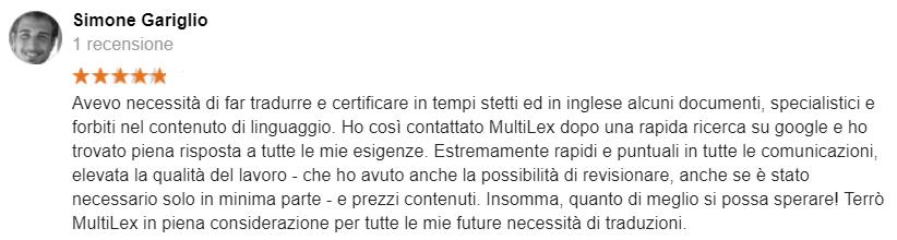 MultiLex_Recensioni